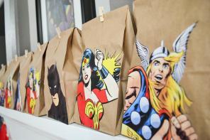 Paix Designs Superhero Party