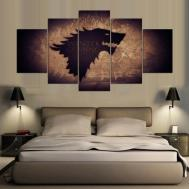 Panels Game Thrones Canvas Prints Painting Wall