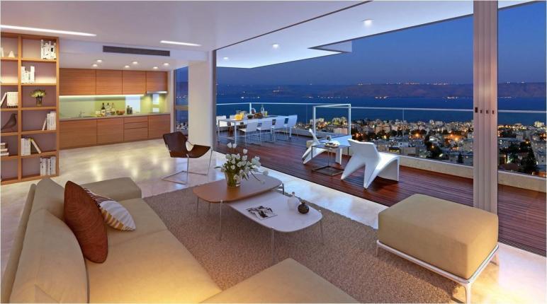 Panoramic Sea Galilee Penthouse Like Apartment