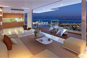 Panoramic Sea Galilee Penthouse Like Apartment