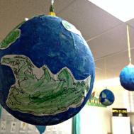 Paper Mache Globes Littlelifeofmine
