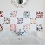 Patchwork Chintz Ceramic Tiles Various Designs