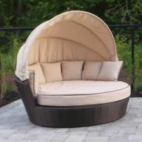Patio 5tao Round Tao Day Bed Lowe Canada