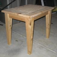 Pdf Diy Simple Outdoor Side Table Plans Shelving