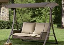 Pennington Style Parkside Resin Wicker Swing Limited