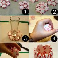 Peppermint Candy Shot Glass Princess Pinky Girl