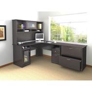 Perfect New Corner Space Saving Computer Desk Shaped