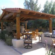 Pergola Roof Covered Design Ideas