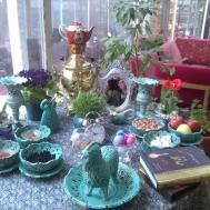 Persian Corner Iranian Nowruz Haft Seen Table