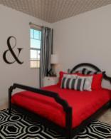 Photos Bold Modern Bedroom Geometric Ceiling