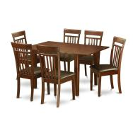 Piece Kitchen Nook Small Table Dining Room Chairs