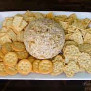 Pineapple Cheese Ball Simple Diy Serving Tray Stacy