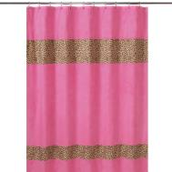 Pink Damask Shower Curtain Brilliant Shab Romantic Chic