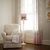 Pink Taupe Leopard Nursery Cor Carousel Designs