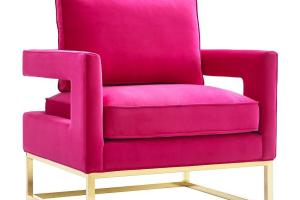 Pink Velvet Chair Modern Chairs Quality Interior 2017