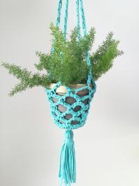 Plant Happy Crochet Planter Hanger Vickie Howell