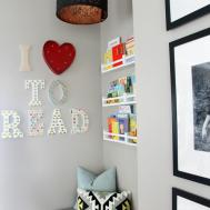 Playroom Reading Nook Adding Light Our Bliss
