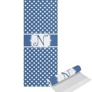 Polka Dots Yoga Mat Printed Front Personalized