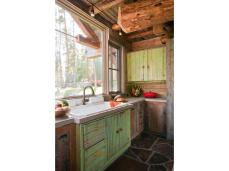 Pond Deck Designs Rustic Kitchen Clearly Highline