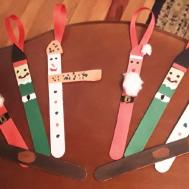 Popsicle Stick Christmas Crafts See Diy Holiday