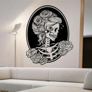 Popular Items Skull Wall Decal Etsy Day Dead