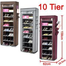 Portable Layer Grid Shoe Rack Shelf Storage Closet