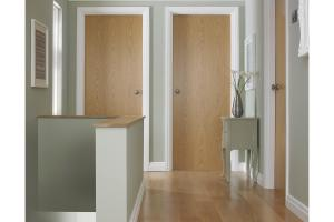 Portfolio Oak Veneer Match Internal Fire Door Next Day