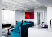 Posh Penthouse Makeover Melbourne Relies Chic Cor