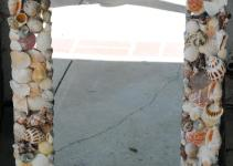 Pottery Barn Inspired Sea Shell Mirror Tutorial