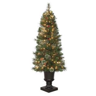 Pre Lit Led Alexander Pine Artificial Christmas