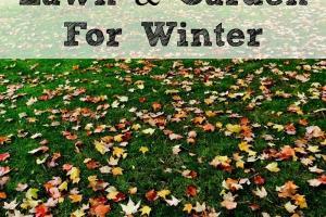 Prepare Your Lawn Garden Winter Fall
