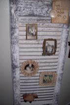 Primitive Plot Like Old Window Frames Shutters