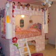 Princess Carriage Bed Feel Home
