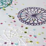 Puffy Paint Doilies Valentine Day Craftlightning