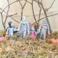 Pumpkin Diorama Diy Spooky Kid Photos Halloween