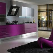 Purple Kitchen Decor Decosee