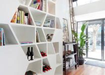 Putting Creative Spin Classical Bookcase Concept