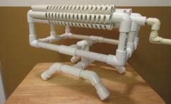 Pvc Base Rubber Band Machine Gun