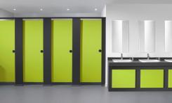 Quadro Toilet Cubicle System Bushboard Washrooms
