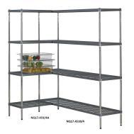 Quartermaster Airdeck Nylon Wire Shelving Bays Shelves