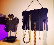 Quick Easy Necklace Holder Diy