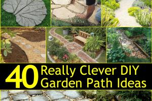 Really Clever Diy Garden Path Ideas