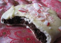 Recipe Chocolate Peppermint Christmas Cookies