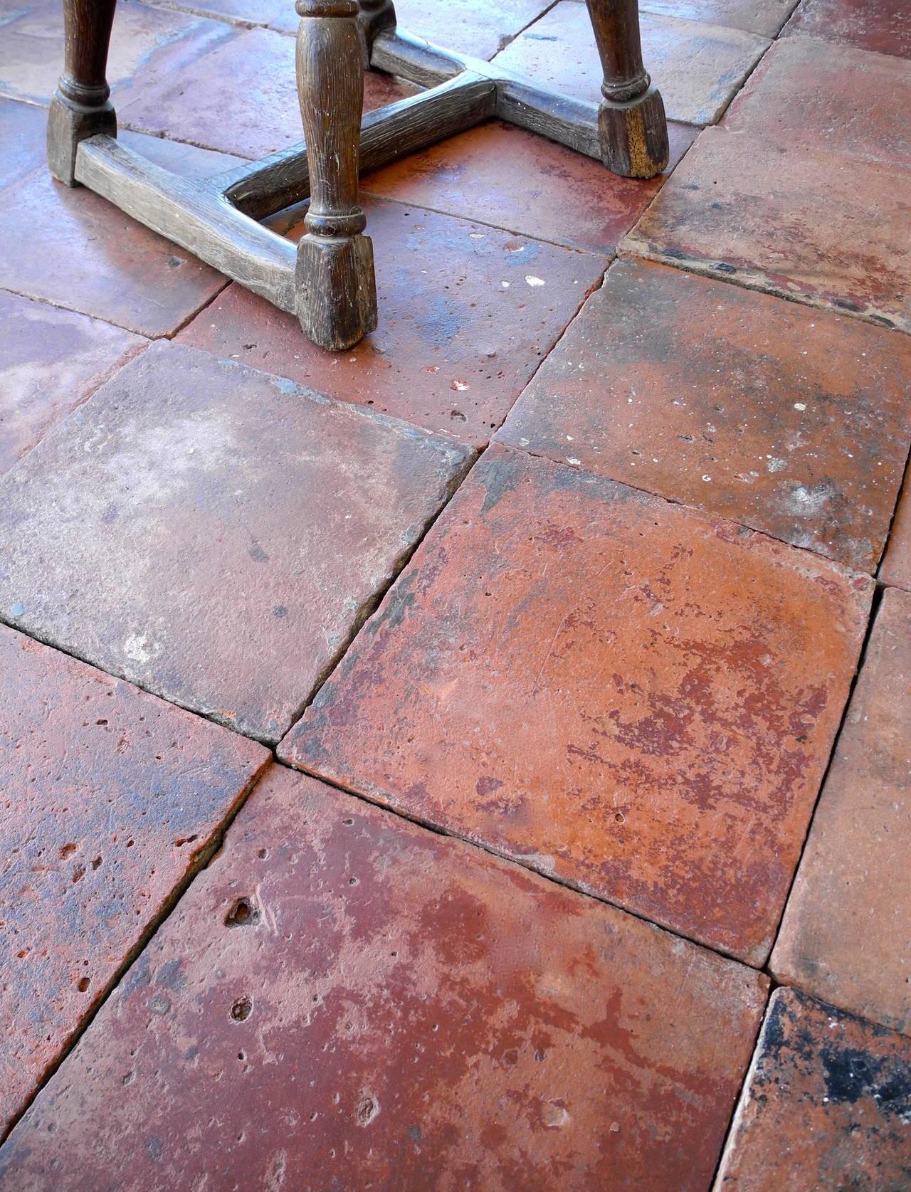 reclaimed spanish terracotta tiles