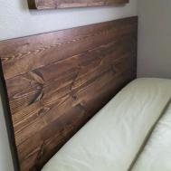 Reclaimed Wood Headboards Bedroom Design Wonderful Rustic
