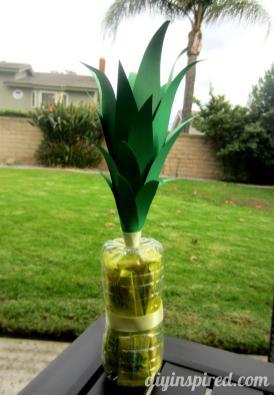 Recycled Arrowhead Water Bottle Pineapple Diy Inspired