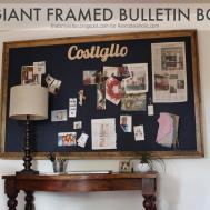 Remodelaholic Build Giant Bulletin Board Under
