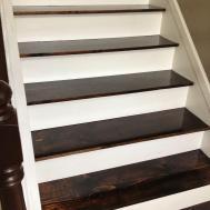 Remodelaholic Carpet Hardwood Stair Remodel