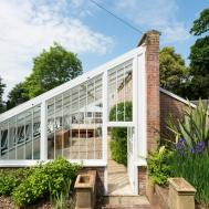 Rescued Ruin 19th Century Greenhouse Becomes
