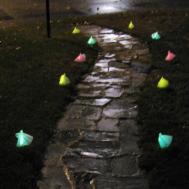 Rhody Life Diy Halloween Glowing Ghosts